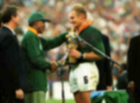 Rugby Union - 1995 World Cup Final - South Africa 15 New Zealan