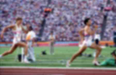 Sebastian Coe -1984 Los Angeles Olympics
