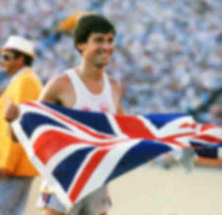 Sebastian Coe vince la finale dei 1500 metri delle Olimpiadi di Los Angeles del 1984