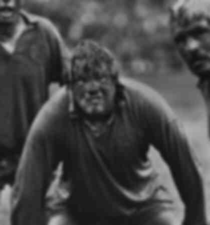 The mud man