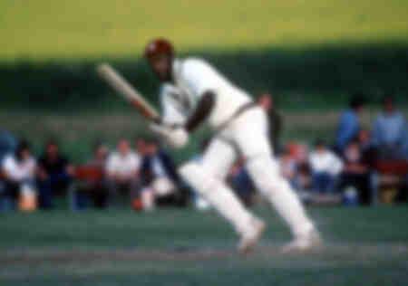 Viv Richards jouant pour les Antilles en 1987