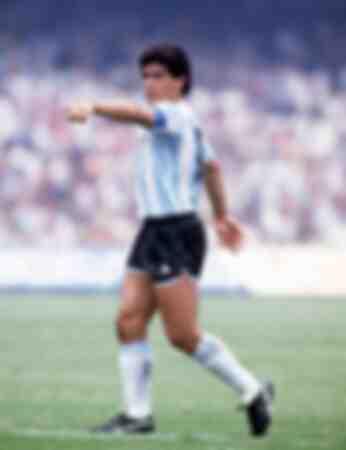 WK 1986 Groep A Argentinië 3 Z Korea 1