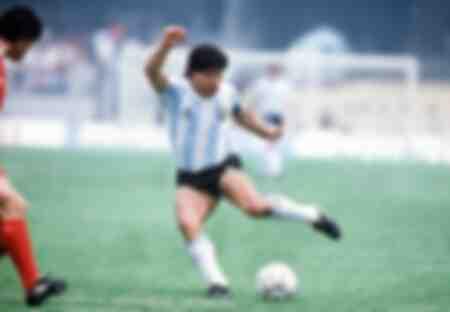 WC1986 Groep A Argentinië 3 Z Korea 1