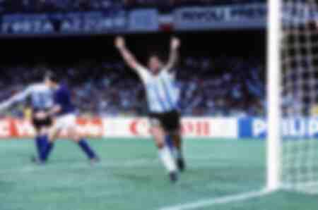 WC1990 SF Argentinië 1 Italië 1