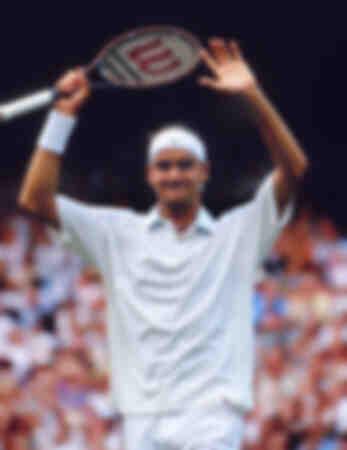 Roger Federer - Finale Wimbledon Hommes 2001