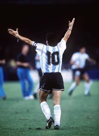 Diego Maradona - Coupe du monde 1990