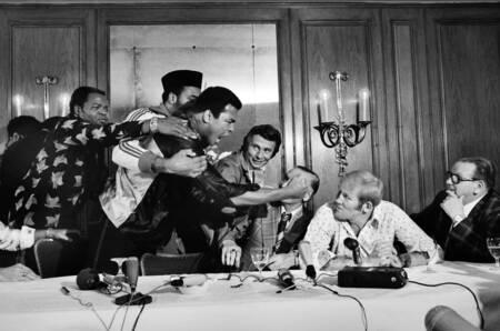 Conférence de presse Muhammed Ali v Dunn