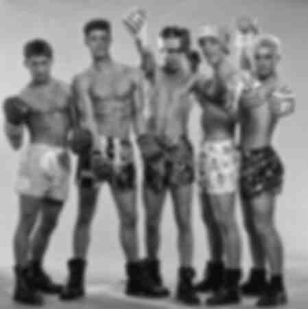 Englische Boyband Take That im Jahr 1981