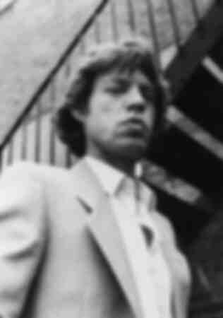 Mick Jagger in 1980