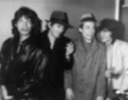 Mick Jagger - Keith Richards - Charlie Watts und Ron Wood von den Rolling Stones