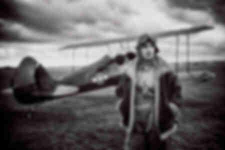 El viejo avión de Nella