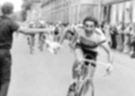 Eddy Merckx at the Tour de France 1975