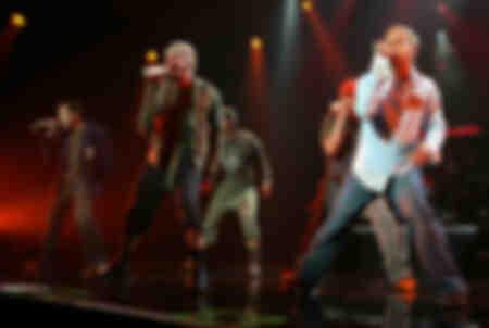 The Backstreet Boys in 2005