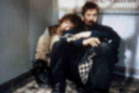 Anne Parillaud  et  Luc Besson 1990