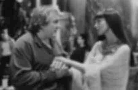 Gérard Depardieu e Monica Bellucci nel 2002