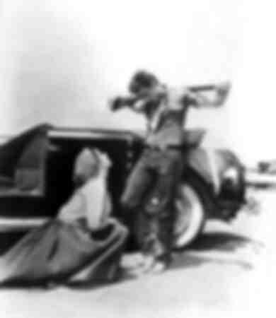 James Dean en Elizabeth Taylor