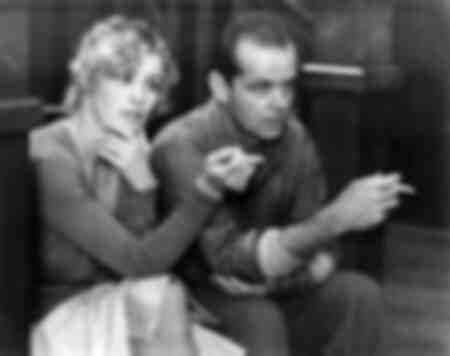 Jessica Lange et Jack Nicholson