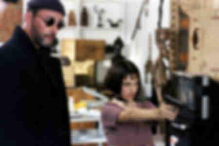 Léon et Mathilda scène du film Léon
