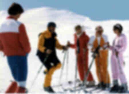 Les bronzés font du ski-Le cours de popeye