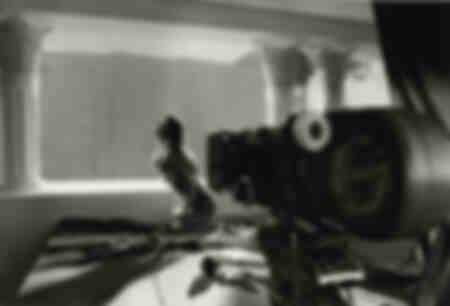 Monica Bellucci davanti alla telecamera