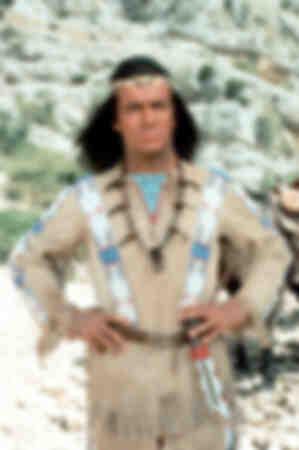 Pierre Brice in der Rolle des Winnetou-1963