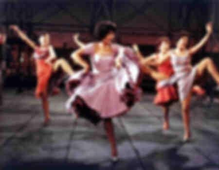 Scène de danse - Tournage du film West Side Story