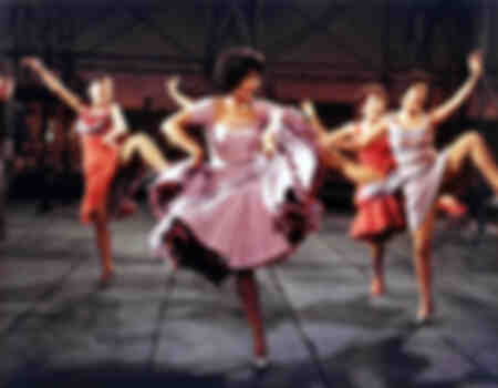 Dance scene - West Side Story film set