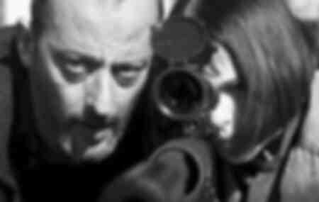 Escena icónica de la película Léon
