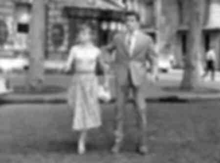 Sophie Daumier und Alain Delon