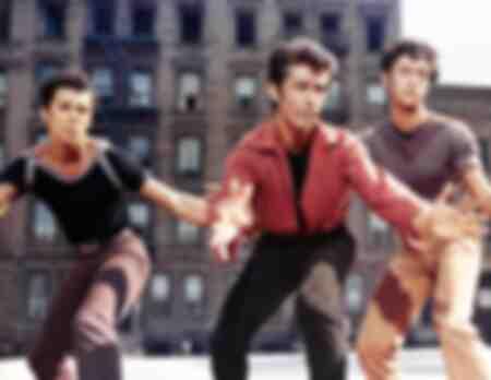 Tournage du film West Side Story
