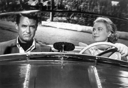 Cary Grant et Grace Kelly
