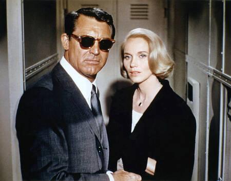 Cary Grant et Eva Marie Saint