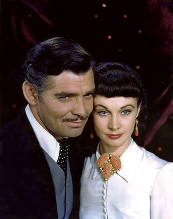 Clark Gable Vivien Leigh - Gone with the Wind