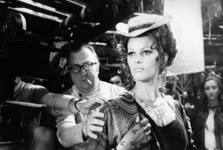 Claudia Cardinale - Il était une fois dans l Ouest - Noir et Blanc