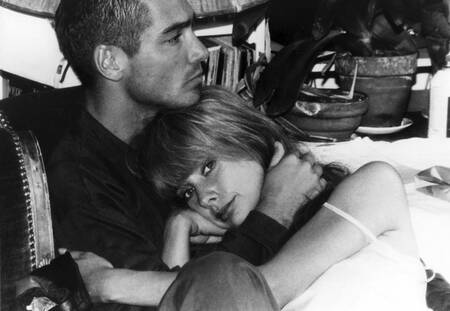 Jean-Marc Barr und Schauspielerin Rosanna Arquette Le Grand Blue