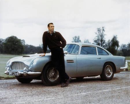 De legendarische Aston Martin uit de film Goldfinger