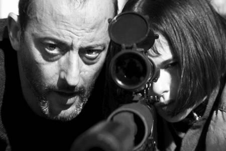 Scène iconique du film Léon