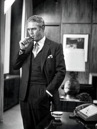 Steve McQueen dans le rôle de Thomas Crown