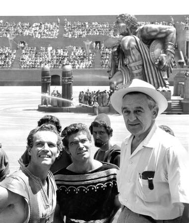 Shooting of the movie Ben Hur - 1959