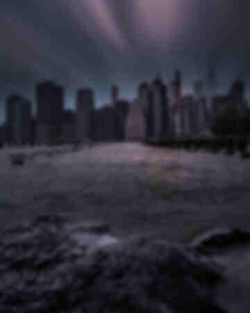 New York City - Tramonto a lunga esposizione 3