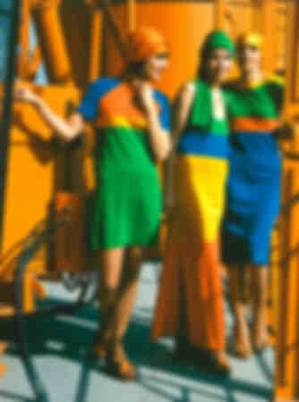 Women's fashion GDR dresses photo from 1977
