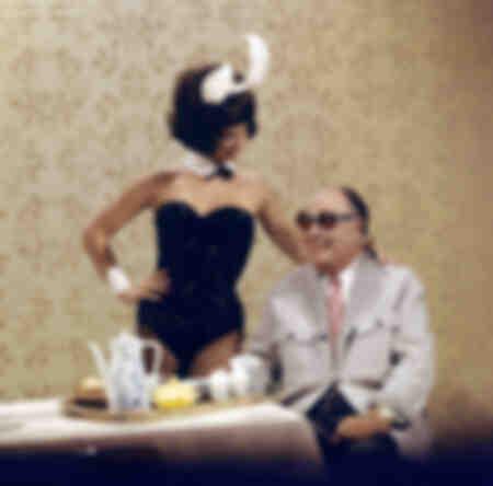 Heinz Erhardt in the TV show Zwischenmahlzeit