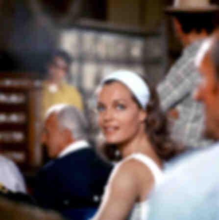 Romy Schneider as Hélène in 1969