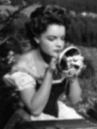 Romy Schneider in the film Sissi