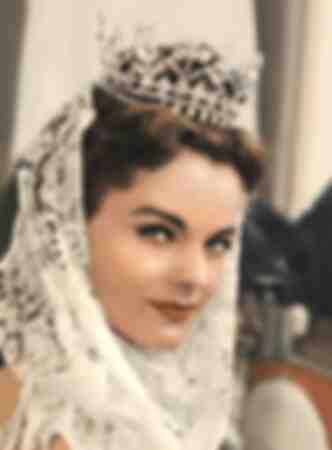 Romy Schneider in Sissi photo from 1957