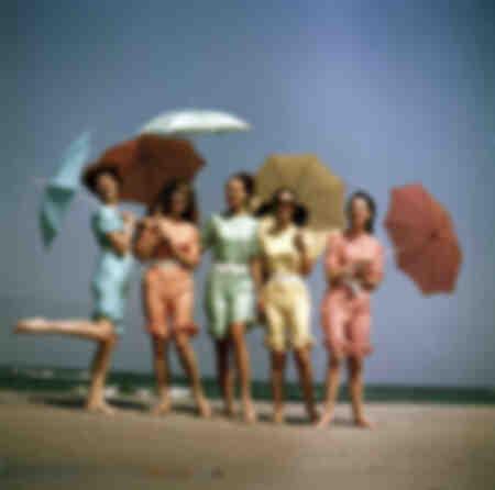 Annons för paraplyfotografering i DDR 1969
