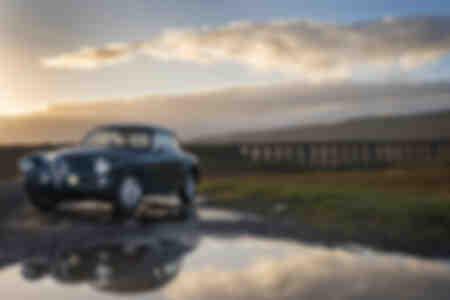Alfa Romeo 1900 al viadotto Ribblehead