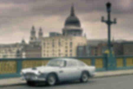 Aston Martin DB4 i London Storbritannien