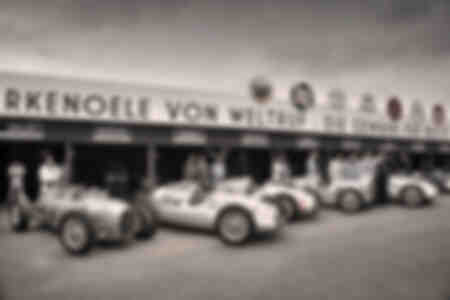 Auto Union Siver Arrows GP Cars at Goodwood