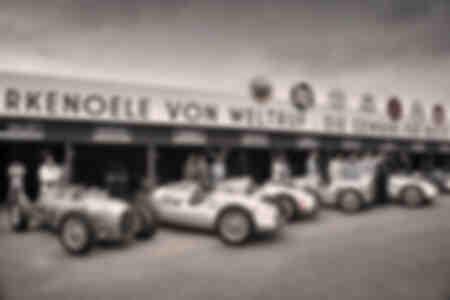 Auto Union Siver Arrows GP Cars à Goodwood